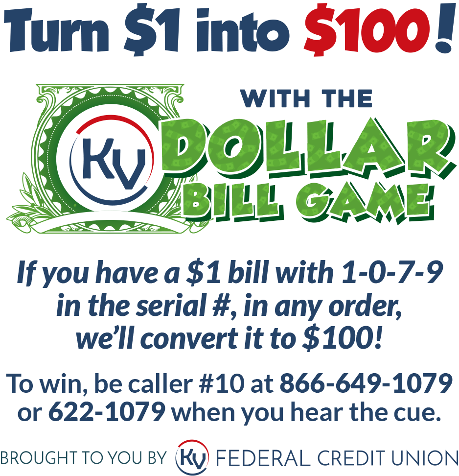 KVFCU Dollar Bill Game